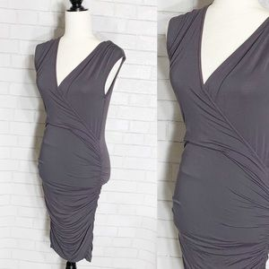 NWT bobi Los Angelas Gray Dress